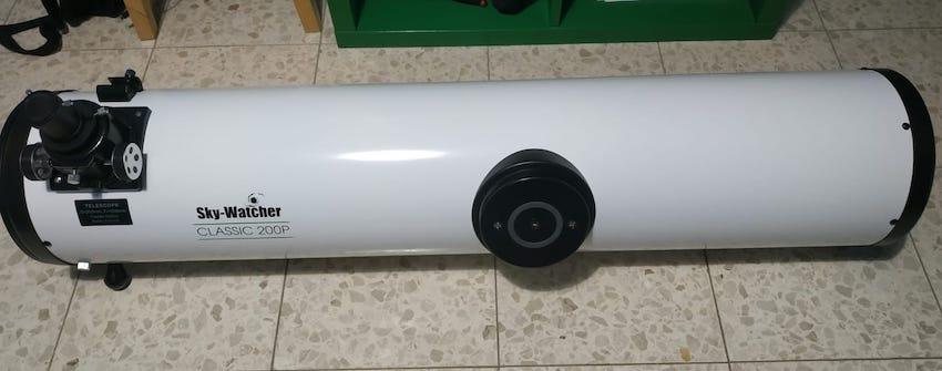 tubo óptico telescopio sky-watcher skyliner 200p 8