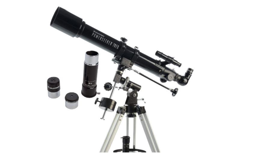 telescopio powerseeker 70 EQ reseña