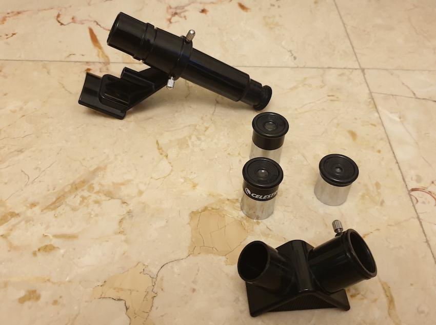 accesorios para el telescopio celestron powerseker 50