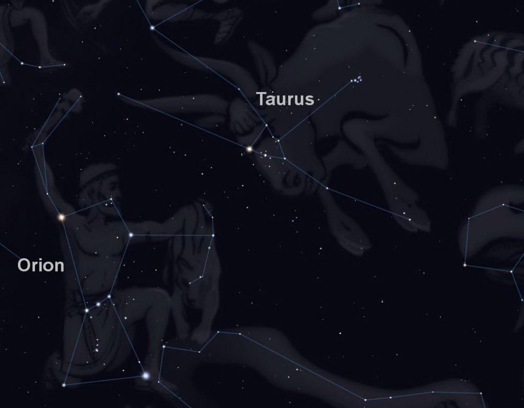 Mitología de la constelación de Tauro