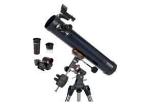 Reseña: telescopio Celestron Astromaster 76 EQ (¿Recomendado?)